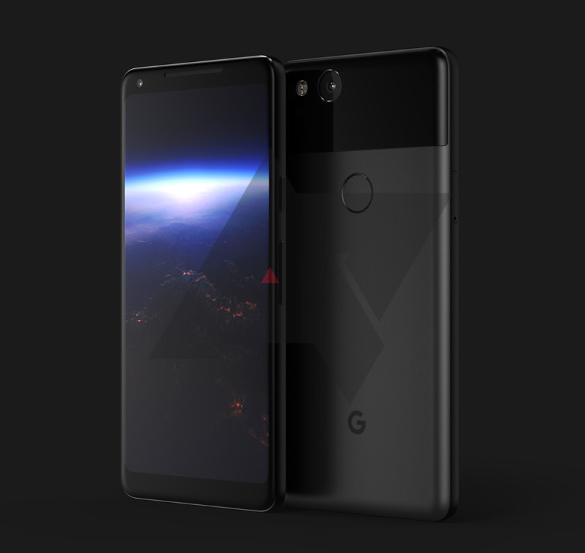 marcos del google pixel xl 2