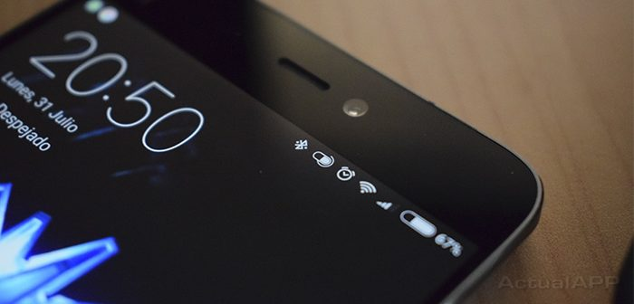 indicador de batería Bluetooth en Android