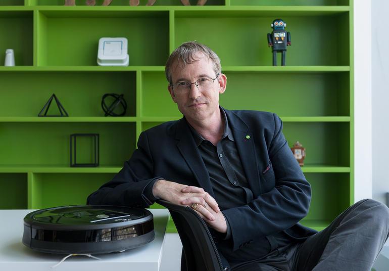 Colin Angle, CEO de iRobot (Imagen: iRobot)
