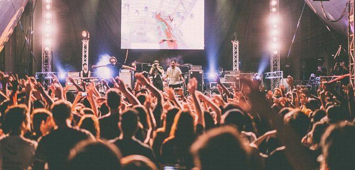 festival de música con el móvil