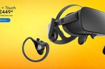 oculus rift touch 449 euros