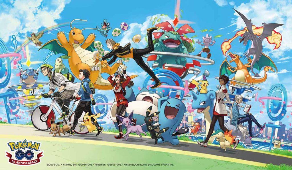 Legendarios en la Pokémon GO Fest