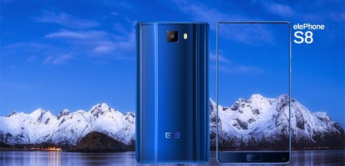 video promocional del elephone s8