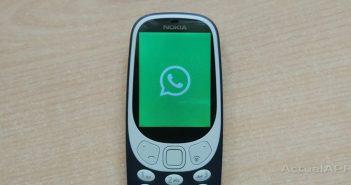 whatsapp en el nokia 3310