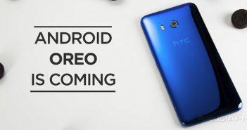 htc que actualizarán a Android 8.0 Oreo