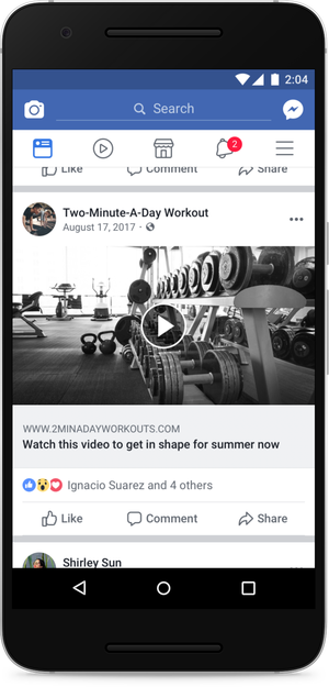 vídeos engañosos en Facebook