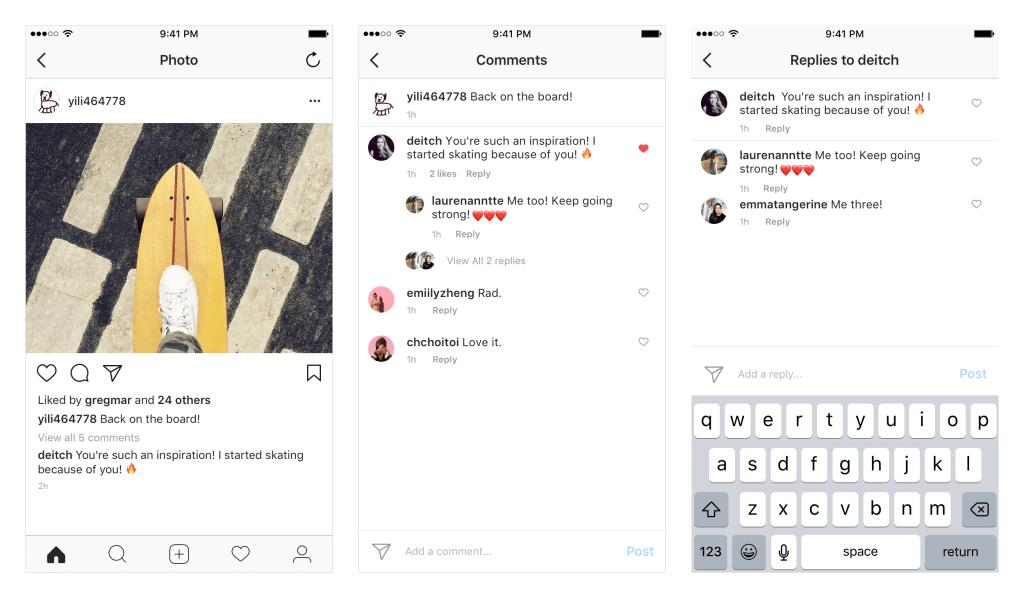 responder comentarios en instagram