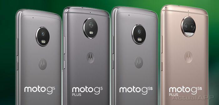 Moto G5 y Moto G5S