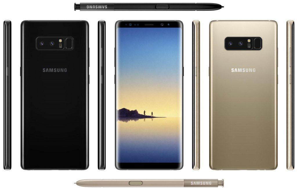 lanzamiento del Galaxy Note 8