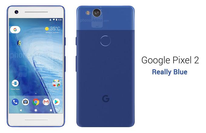imágenes del Google Pixel 2