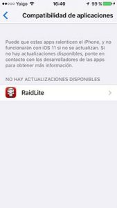 apps no compatibles con ios 11 233