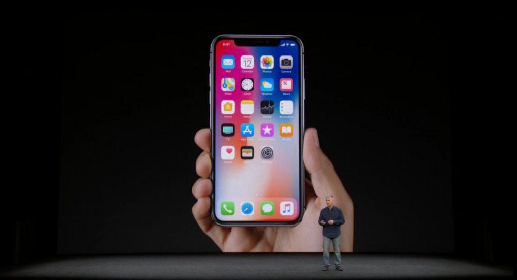 produccion del iphone x