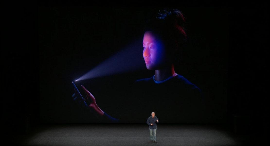 lector de huellas debajo la pantalla en 2018