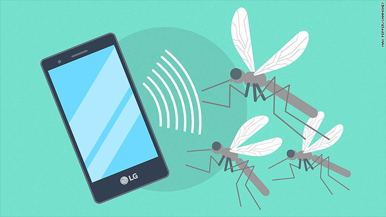 smartphone anti-mosquitos