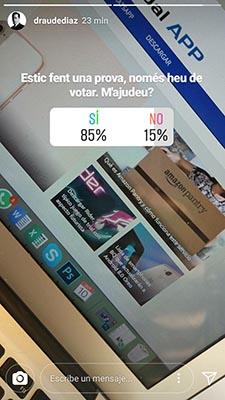 encuestas de instagram no son anonimas
