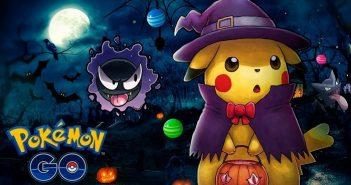 actualizacion de halloween de pokemon go