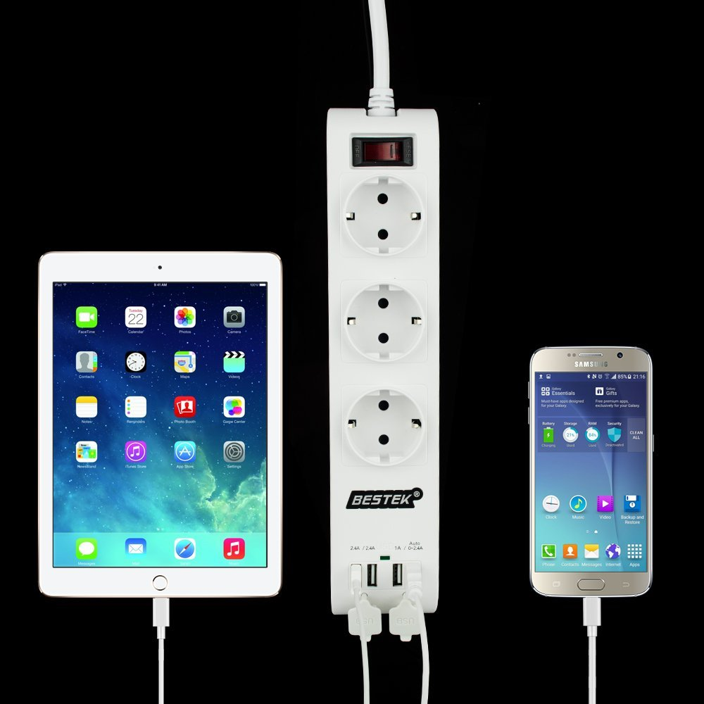 regletas con USB