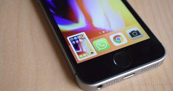 captura de pantalla en iphone