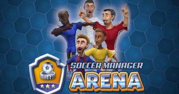 descargar soccer manager arena