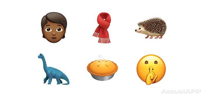 iOS 11.1 con los nuevos emoji
