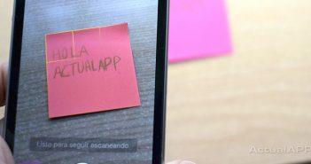 escanear documentos con un iphone