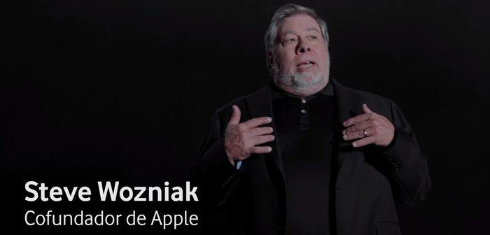 Steve Wozniak en el último anuncio de Vodafone