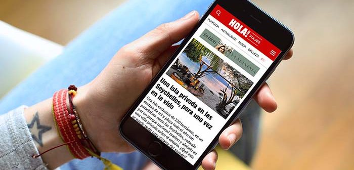 app de la revista hola