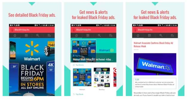 apps para encontrar ofertas durante el black friday