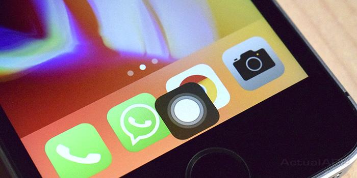 botón Home en el iPhone X