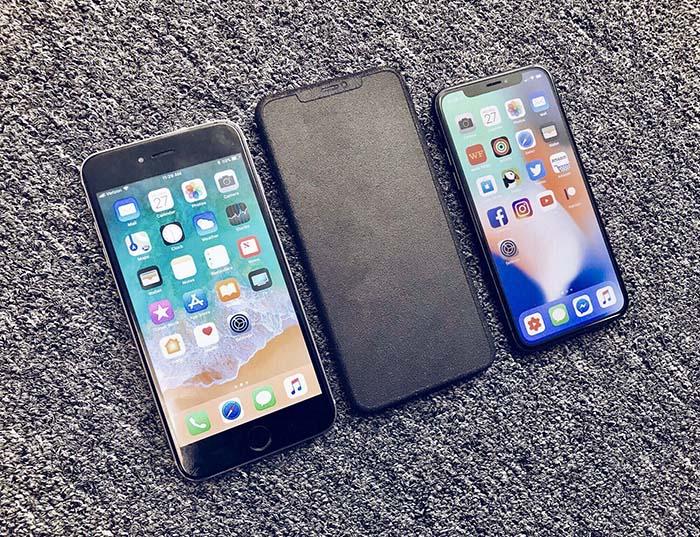 lanzar un iphone x plus
