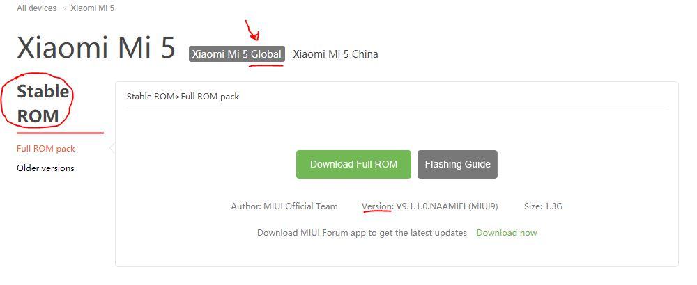 actualizar un Xiaomi manualmente