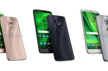 moto g6, g6 plus y g6 play