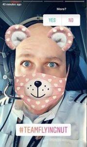 colgar fotos en snapchat en pleno vuelo