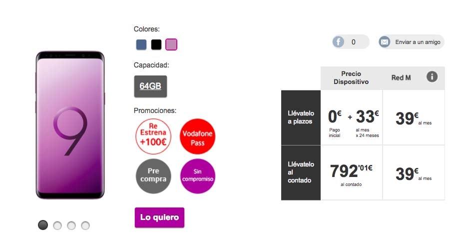 Ofertas Orange Este Mes Samsung Galaxy S9 Plus Por 20