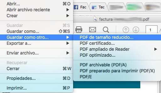 reducir tamano de un pdf