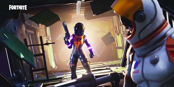 Fortnite se r e de la teor a del meteorito que caer en for Fortnite temporada 5 sala