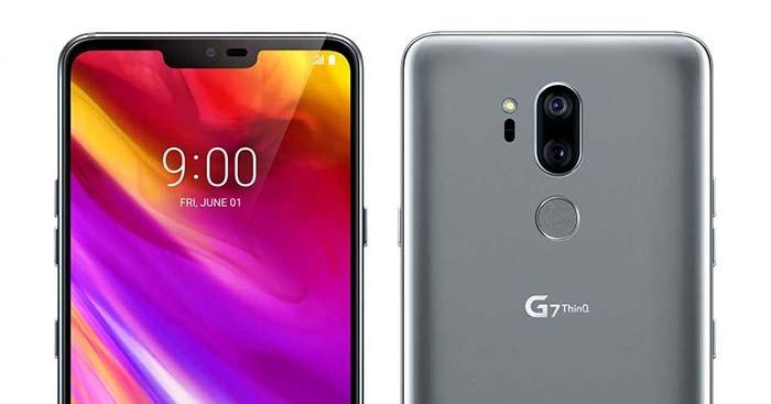 lg g7 ya es oficial