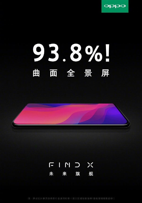 pantalla del oppo find x