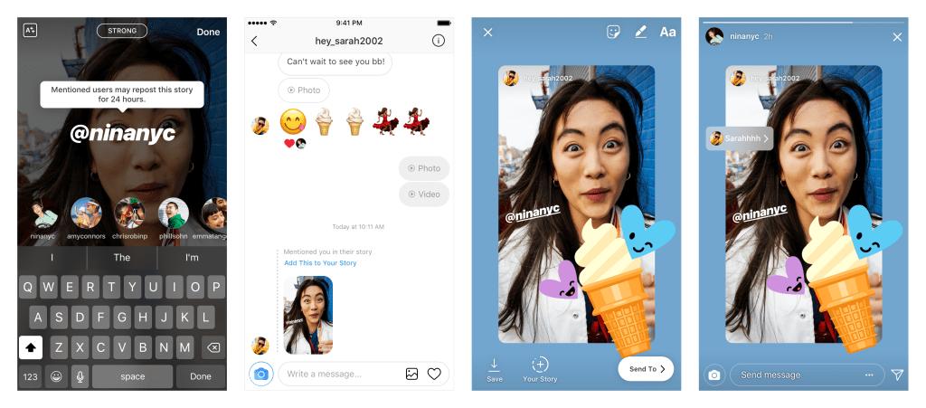 repostear una historia de Instagram