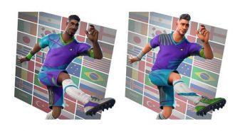 camisetas de futbol en fortnite
