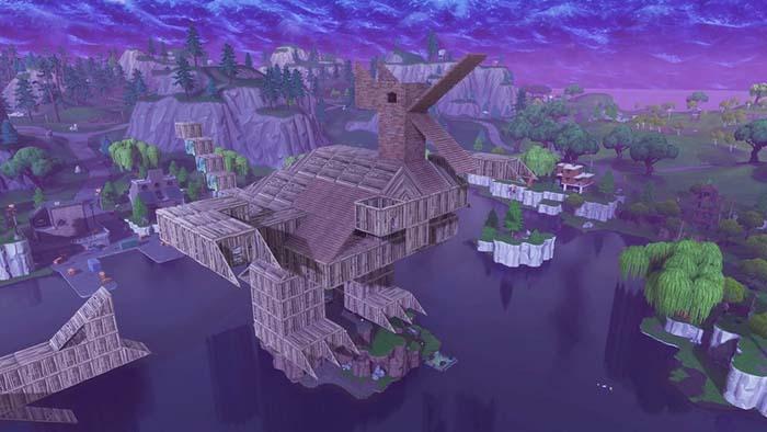 construcciones del patio de juegos de fortnite