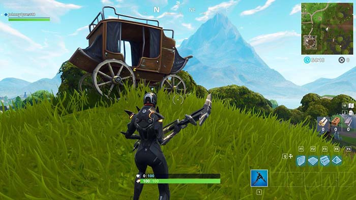 Aparecen objetos de la temporada 5 de fortnite a trav s de for Fortnite temporada 5 sala