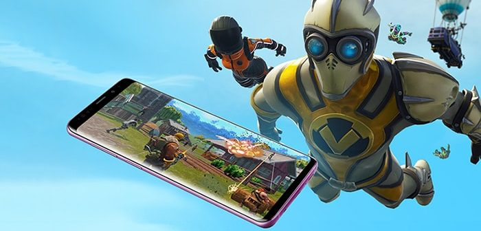 instalar fortnite en un galaxy s7 s8 s9