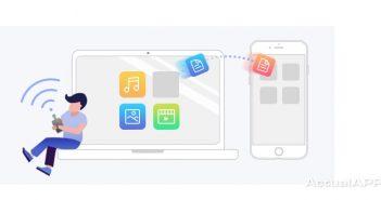 transfiere archivos entre iPhone y PC