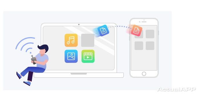 transfiere archivos entre iPhone y PC