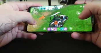primer gameplay de fortnite para android