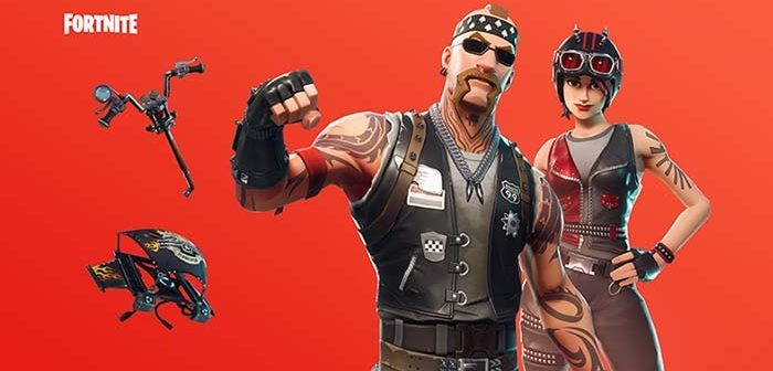skins de motoristas en Fortnite