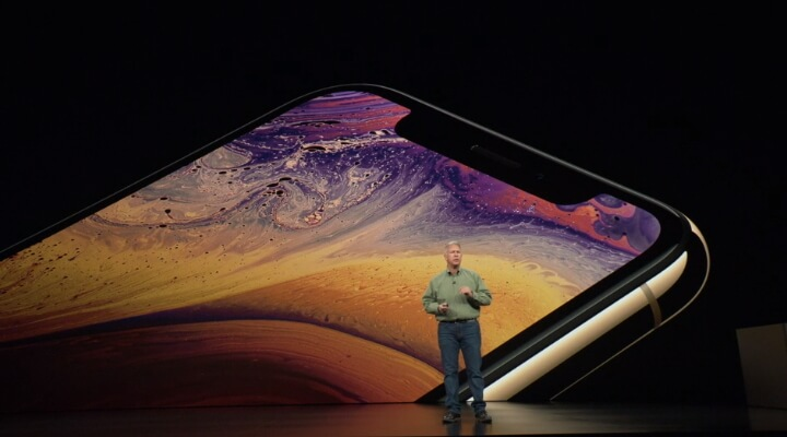 capacidad de la batería del iPhone XS, XS Max y XR