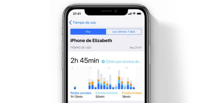 limite de uso de apps