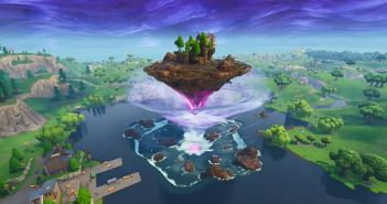 isla flotante de fortnite